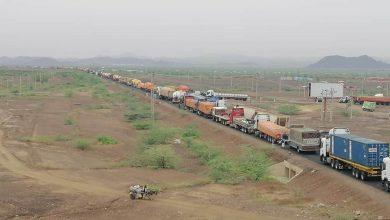 الطريق القومي - كسلا بورتسودان القضارف شاحنات