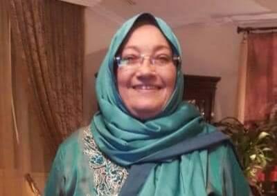 المجني عليها والدة دكتور مجدي
